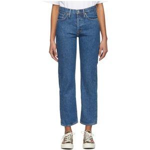 Acne Studios Blue Blå Konst 1997 Jeans